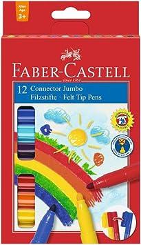 Faber-Castell 155560 multicolor Maletín con 60 rotuladores