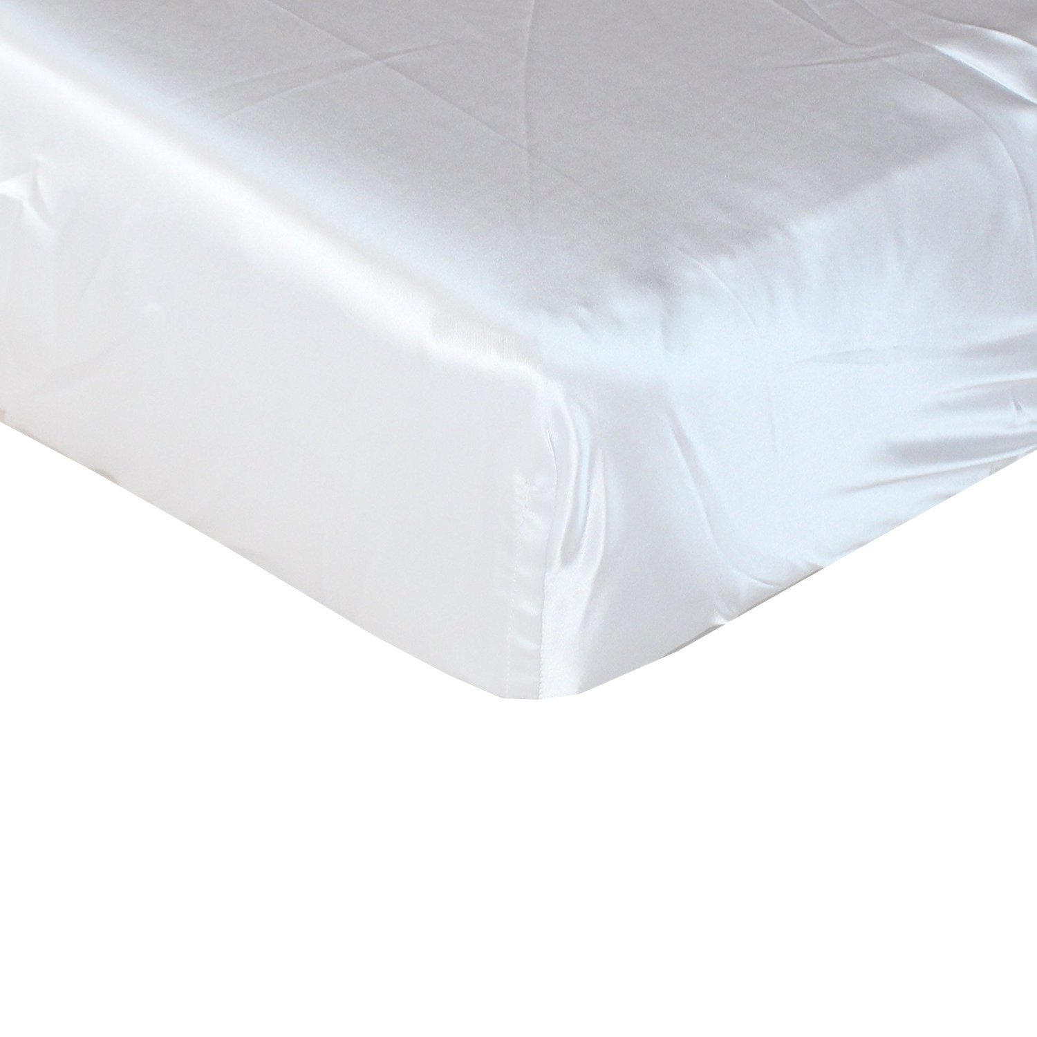 Pro Goleem Satin Soft Crib Sheet Great for Baby with Sensitive Hair Silky Baby Mattress Sheet Gray Unisex 52/'/'x28/'/'x8/'/' Fitted Sheet