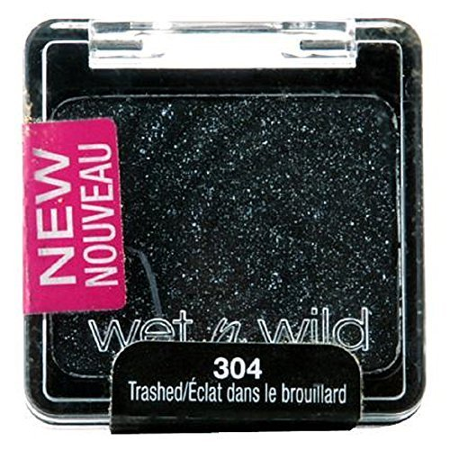 Wet N Wild Glitter Single Eyeshadow, Trashed - 1 Pkg by Wet 'n Wild