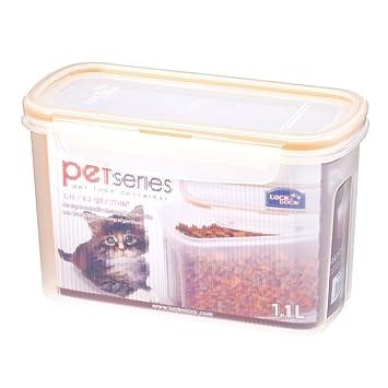 Amazoncom LOCK LOCK Pet Series Rectangular Food Storage