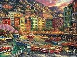 Buffalo Games - Chuck Pinson - Vibrant Italy - 1000 Piece Jigsaw Puzzle