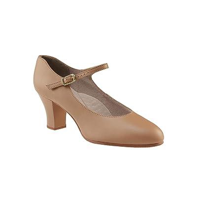 Capezio Women's 650 Student Footlight Character Shoe | Ballet & Dance