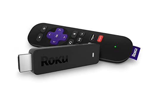 Roku Streaming Stick (3600R)  Portable HD Streaming Player, Quad-Core Processor, Dual-Band Wi-Fi, Point Anywhere Remote (Certified Refurbished)