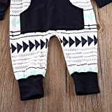 Emmababy Baby Boys Girls Jumpsuit Hooded Romper