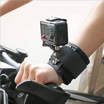 Xingsiyue Palm Strap Accessories for DJI Osmo Action 360 Degree Rotation Wrist Band Mount Glove Hand Strap Belt Tripod Bracket Palm Strap