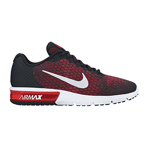 e80e8ce7c0 Nike Air Max Sequent 2 Black/White/Team Red/University Red Men's Running  Shoes: Buy Online at Low Prices in India - Amazon.in