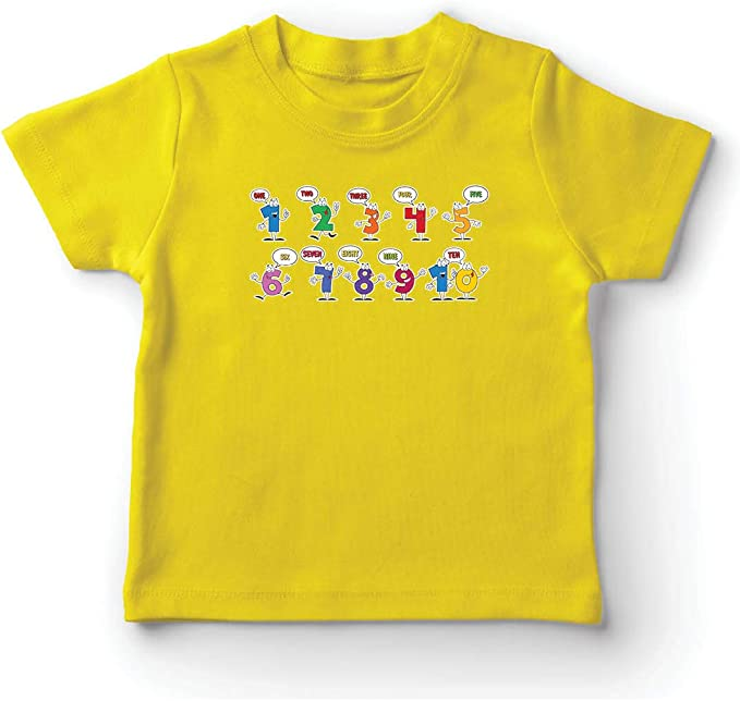 lepni.me Camiseta para Niño/Niña Amo Las matemáticas, Ropa de ...