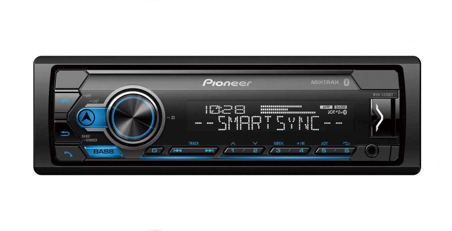 Pioneer MXT- S3166BT Digital Media Receiver + (4) 6.5'' 2 Way Speaker Bundle with Pandora Premium Trial by PIONEER (Image #2)