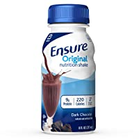Ensure Original Nutrition Shake With 9g of Protein, Meal Replacement Shakes, Dark...