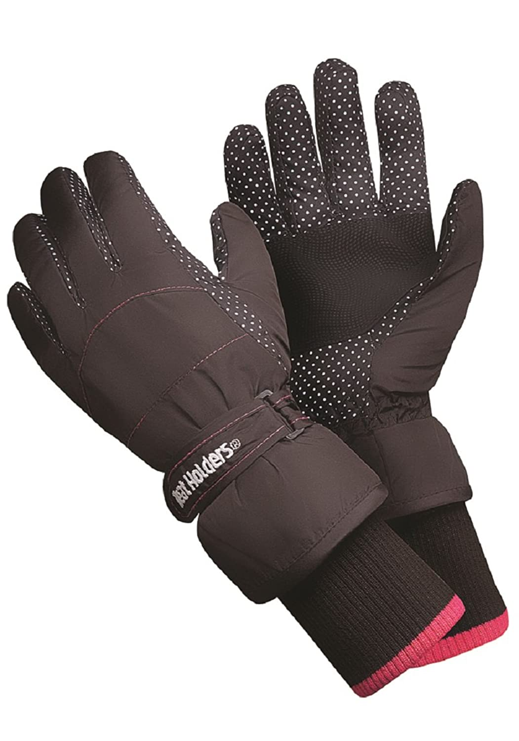 Damen Wärme Holders Wärme Weaver thermische warme Winter Skihandschuhe TOG 2.3 schwarz