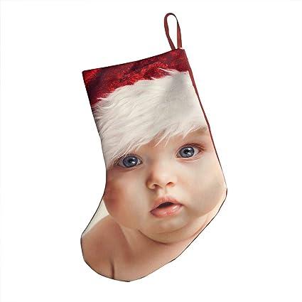 DIDIDI Cute Baby Boy Merry Christmas Cap Christmas Stockings Xmas Socks  Ornamentthemed 18 Inch XL Large 12eeb4266e4