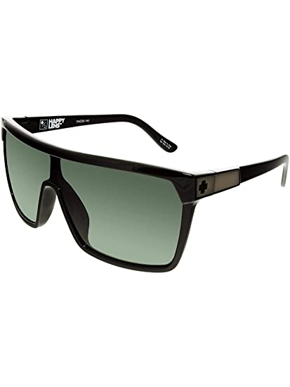 98779c5366b Spy Optic Unisex Flynn Shiny Black Matte Black Happy Gray Green Sunglasses