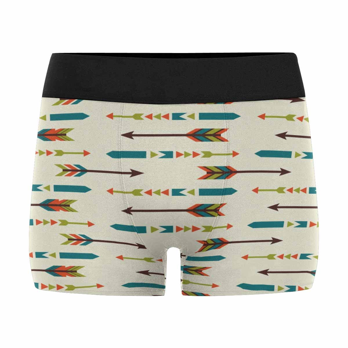 INTERESTPRINT Custom Mens Boxer Briefs Ethnic Arrows Pattern Design XS-3XL