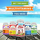EarthWell Best Daily Multivitamin for Men and Women with Minerals 120 Count