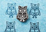 Blockwallah Exotic Owl Wooden Block Stamp
