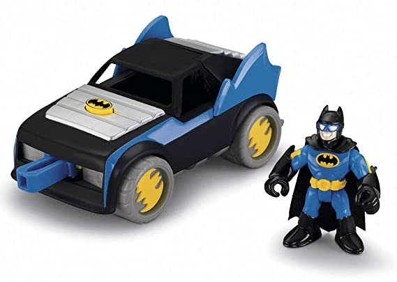 Amazon.com: Fisher-Price Imaginext DC Super Friends Batmobile: Toys & Games