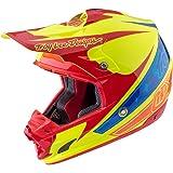 2017 Troy Lee Designs SE3 Crose 2 Helmet-Yellow-M