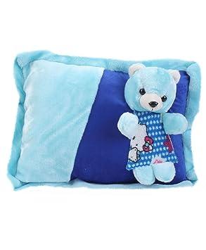 Tickles Blue Adorable Soft Teddy Bear Cushion Stuffed Soft Plush Toy 38 cm