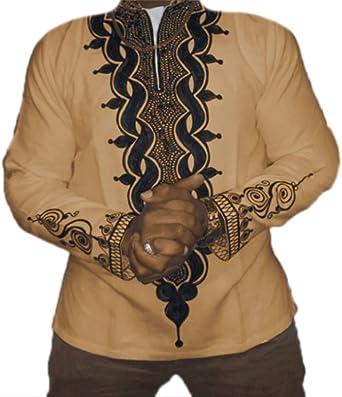 Camiseta Estampada para Hombre Dashiki Camiseta Tribal ...