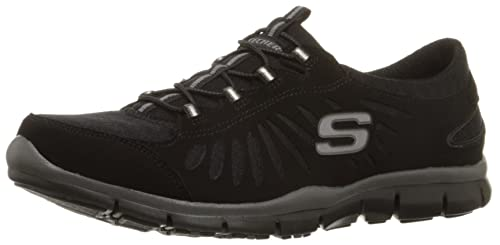 cb21bd7c1fe7 Skechers Sport Women s Gratis-in Motion Fashion Sneaker Black ...