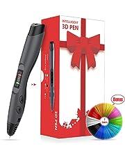 3D Printer Pen,3D Doodling Printing Pen,3D Printing Pens Kit With Bonus(3 Meter) PLA 1.75mm Filament Refills for Crafting