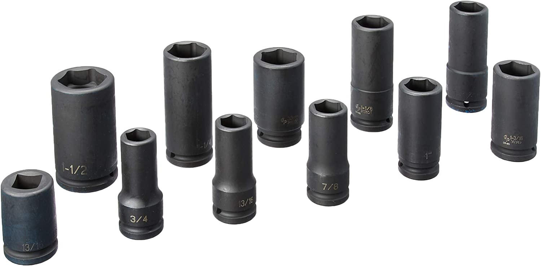 Grey Pneumatic 1235TT Impact Socket Set