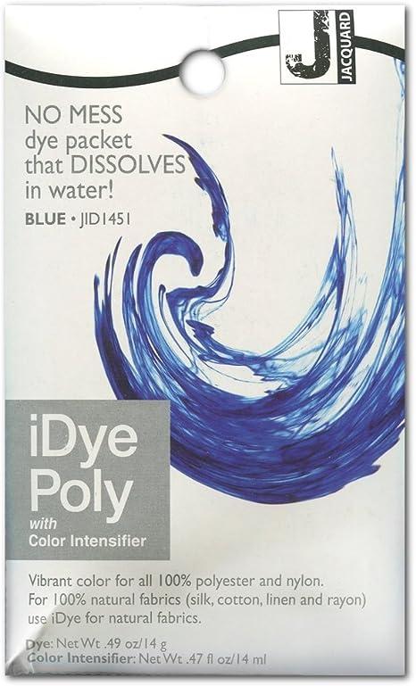 Jacquard iDye Poly – Tinte para tela sintética – Azul