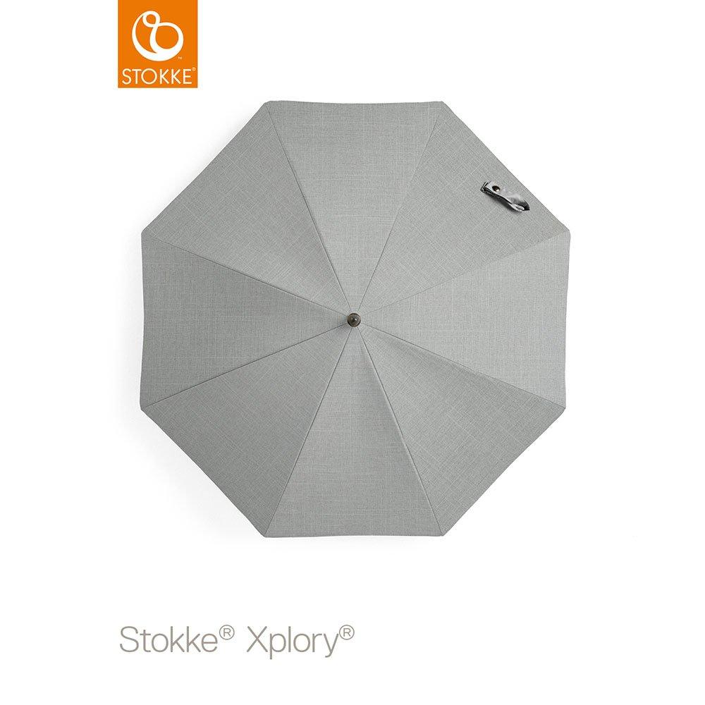 Stokke Xplory V5 negro carrito de bebé, color gris melange ...