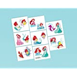 Little Mermaid Tattoo Favors (16 Pack) - Party Supplies