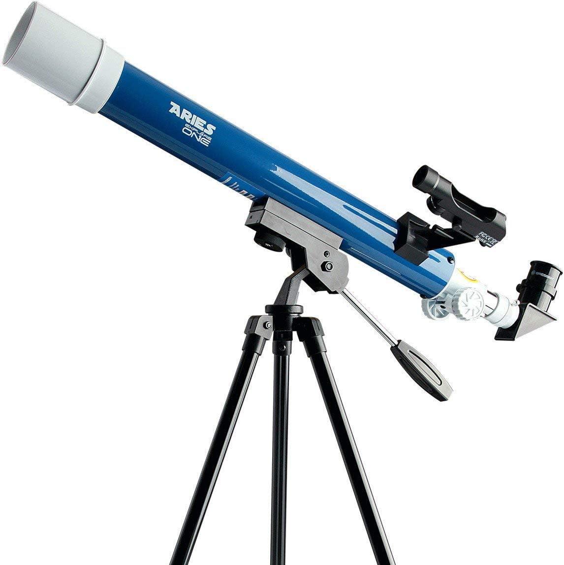 Explore Scientific 88-20114 Aurora Ii Flat Black 114Mm Slow Motion AZ Mount Telescope,
