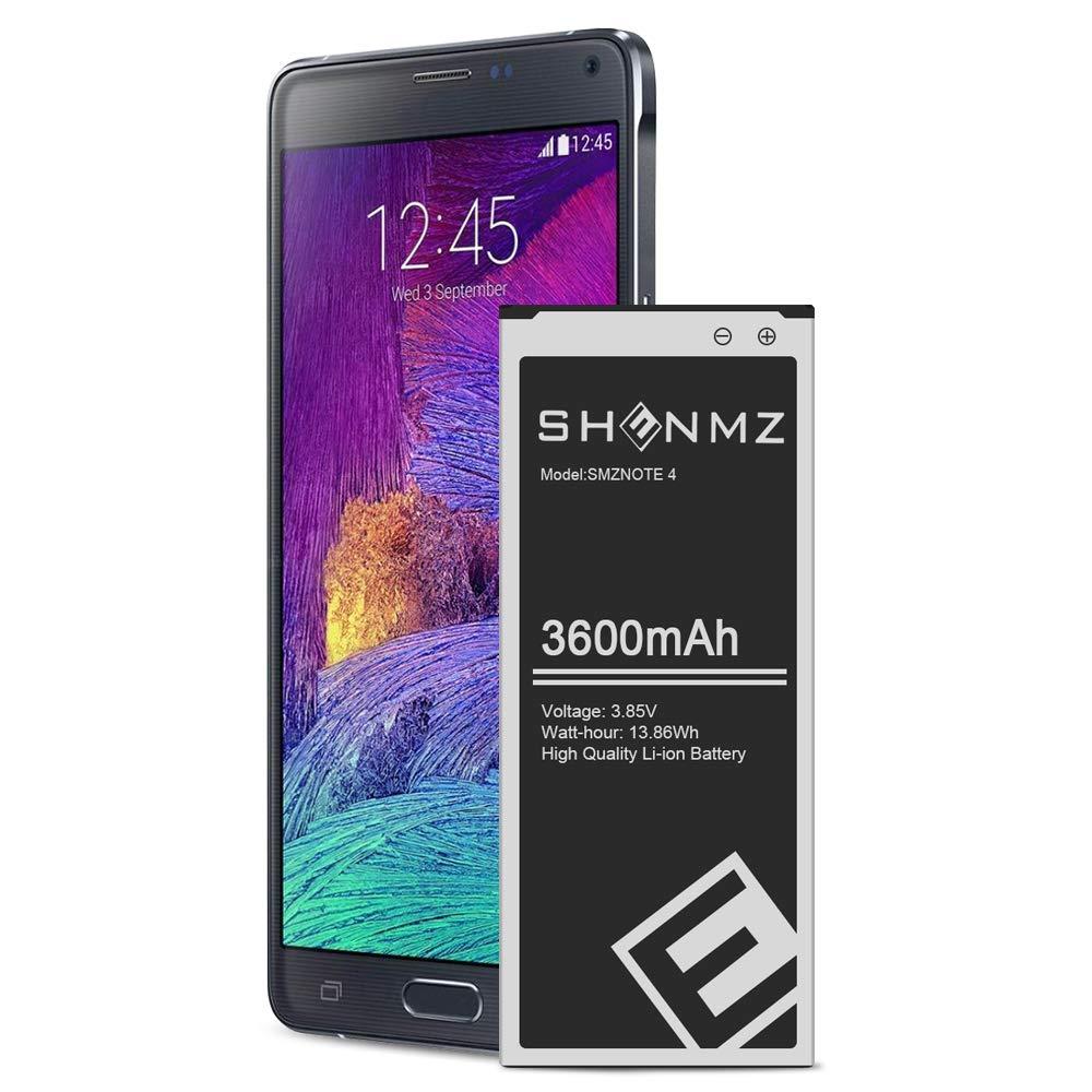 Bateria Emnt Para Samsung Galaxy Note 4 3600mah (91wz)