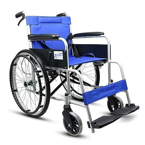 Silla de ruedas portátil de transporte plegable expedición ...