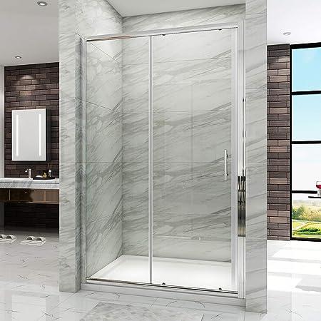 Porte de douche 130x195cm coulissante en niche mod/èle de Loution
