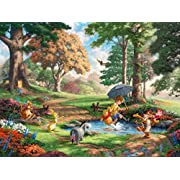 Winnie the Pooh Thomas Kinkade Disney Dreams Collection Jigsaw Puzzle