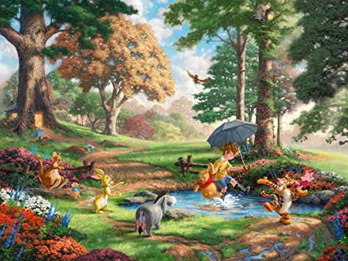Pooh Memory Match - Winnie the Pooh Thomas Kinkade Disney Dreams Collection Jigsaw Puzzle