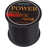 SeaToper Super Strong 4 Strands Sea Fishing Line Braided 300M / 328 Yard 10LB - 80LB 5 Colors Available