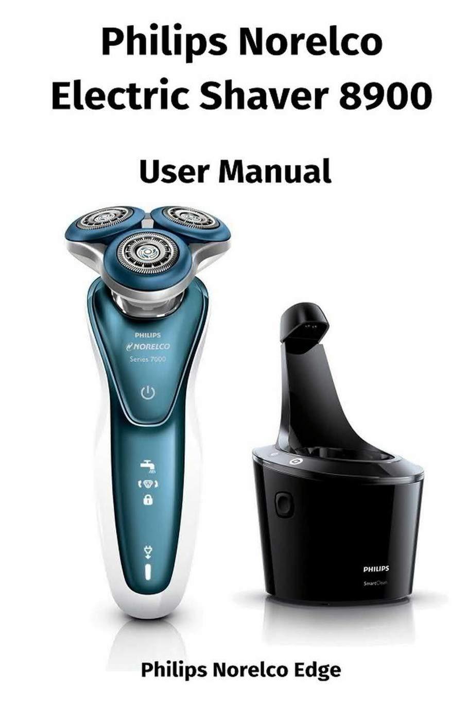 Philips Norelco Electric Shaver 8900 - User Manual: Amazon.es ...