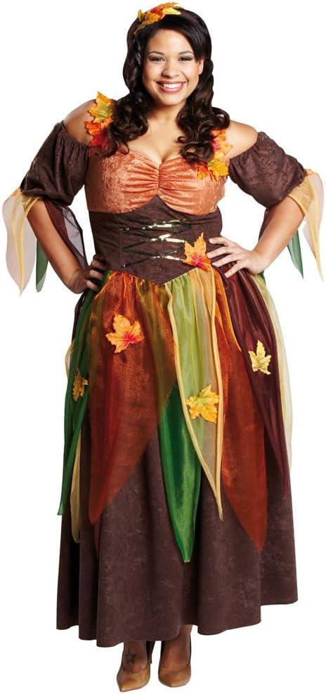 disfraz de hada del bosque Alriel de hada para disfraz Herbstfee ...