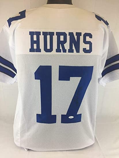 e3b5c06da Image Unavailable. Image not available for. Color: Autographed Allen Hurns  Jersey - Witness Coa - JSA Certified - Autographed NFL Jerseys