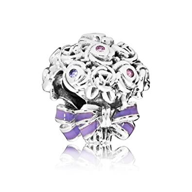 129c729d1 Image Unavailable. Image not available for. Color: PANDORA Celebration  Bouquet Charm 797260NLC