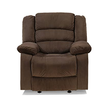 brown amazon leather bradington young recliner in dark com dp hobson