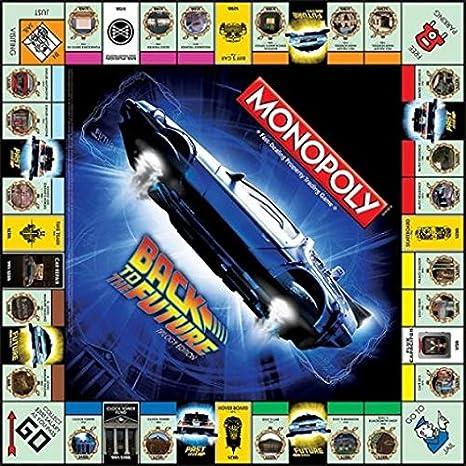 Back To The Future Monopoly Juego De Mesa: Amazon.es: Juguetes y juegos