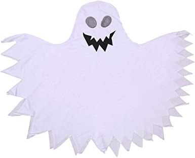 Scary Ghost Costume Toddler Halloween See Ghost Cape Kid Danger Costumes Set Gift for Boys/&Girls