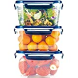 CIMELAX Korea Original Airtight Food Storage, Food Container COMBO SET No.1 (1L x 3units)