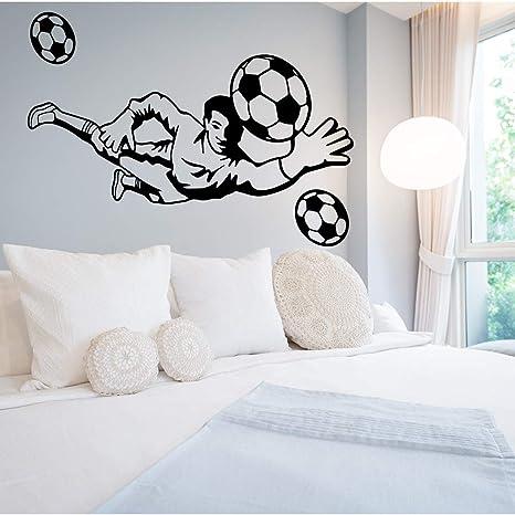 Sprots, Jugador de Fútbol, Pegatinas de Pared, Decoración de la ...