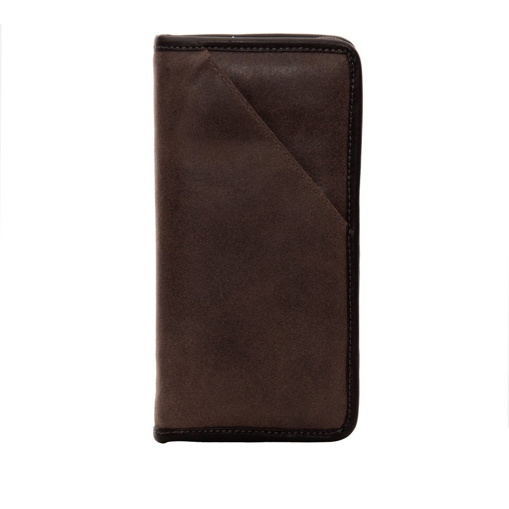 04b48c945320 Piel Leather Vintage Executive Travel Wallet, Brown