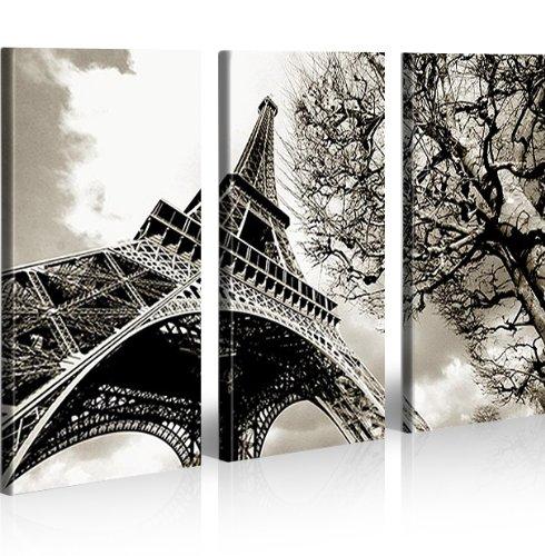 16 opinioni per Eiffel Torre Parigi 3 Quadri moderni su tela- pronti da appendere- montata su