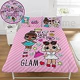 LOL Surprise Glam Double Duvet Set (DP1-LOL-GLM-08)-78.5 x 78.5 inch