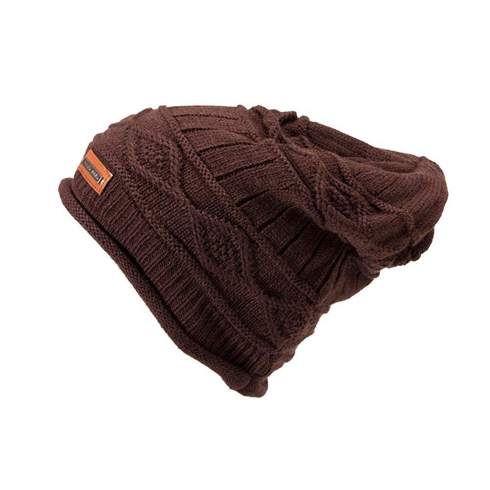 ALIKEEY Hombres Mujeres Caliente Crochet Invierno Plus Terciopelo Plaid Ear Protector Slouchy Hat Teka Cata Decorativa Bosch Filtro Isla Siemens Pared ...