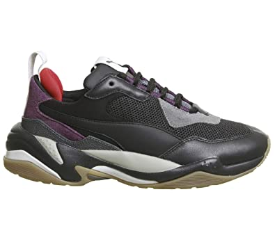 0b801e9d4b6308 Puma Thunder Trainers Grey  Amazon.co.uk  Shoes   Bags